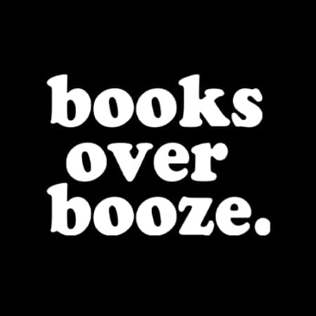Logo for Boozeless Book Club Merch