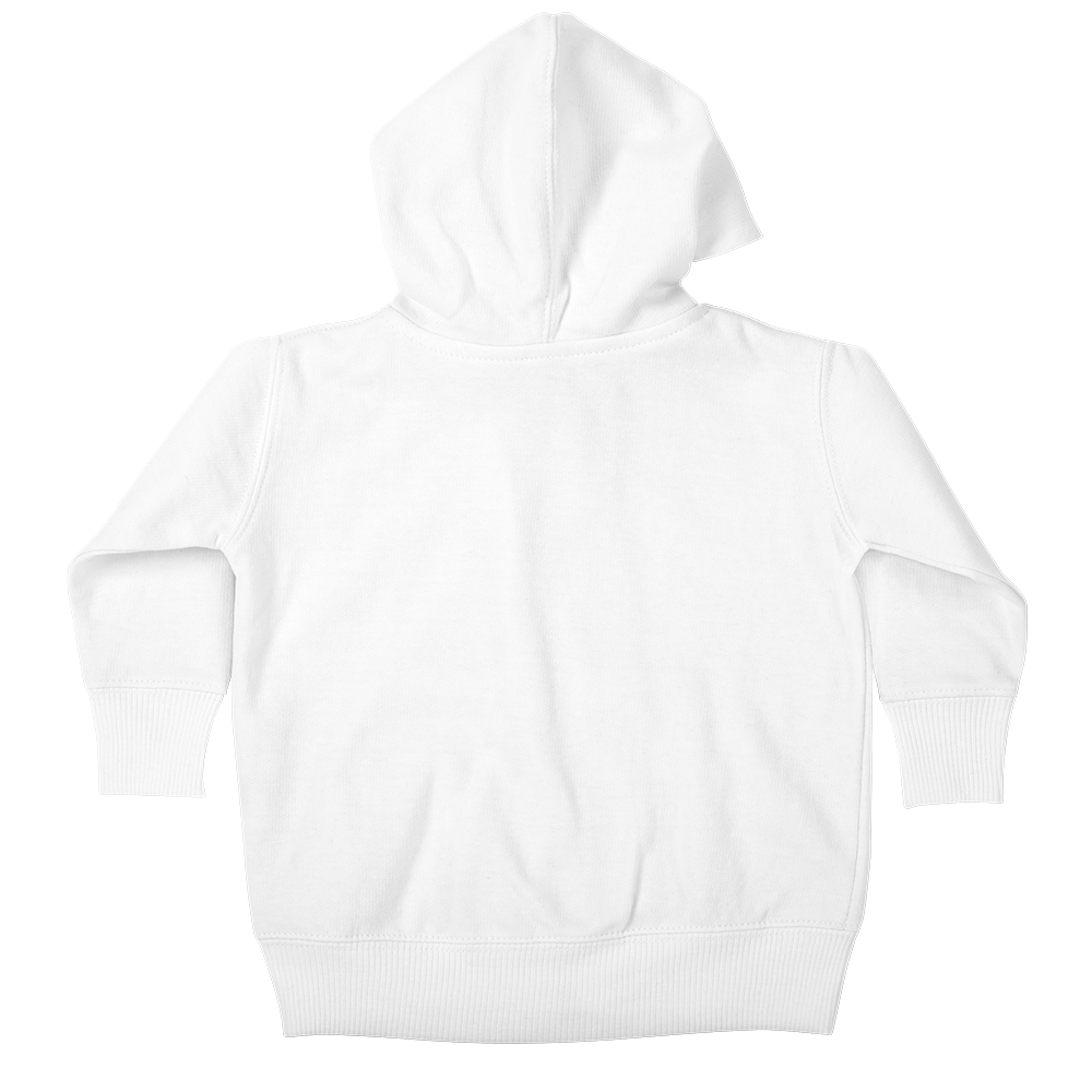 The baby zip-up hoody is the tiniest in cool fashion.