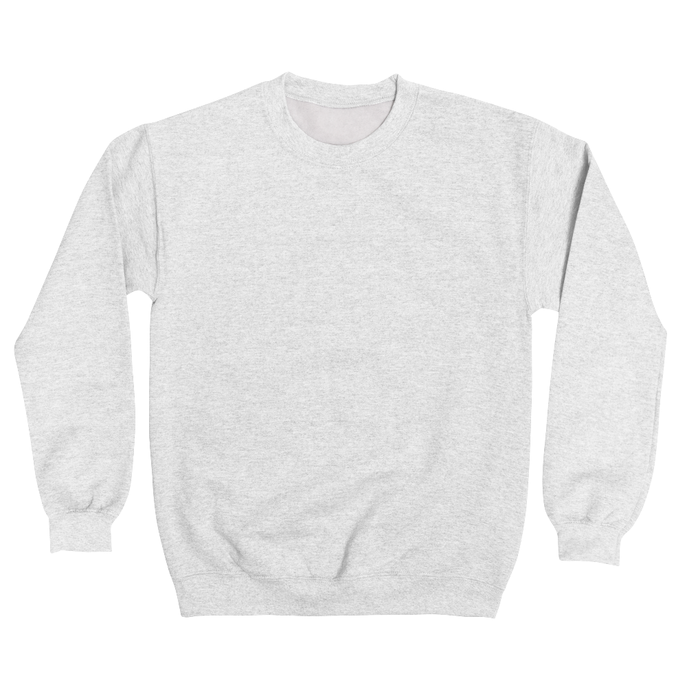 Classic crewneck sweatshirt in sizes up to 5XL delivers everyday comfort with a soft, durable fleece knit.