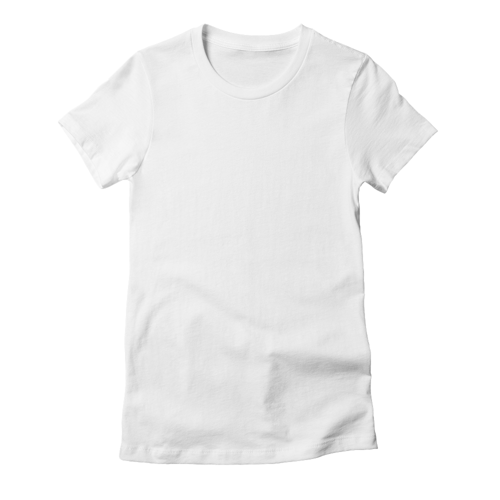 Get your tee fix in style with this custom printed fitted t-shirt.