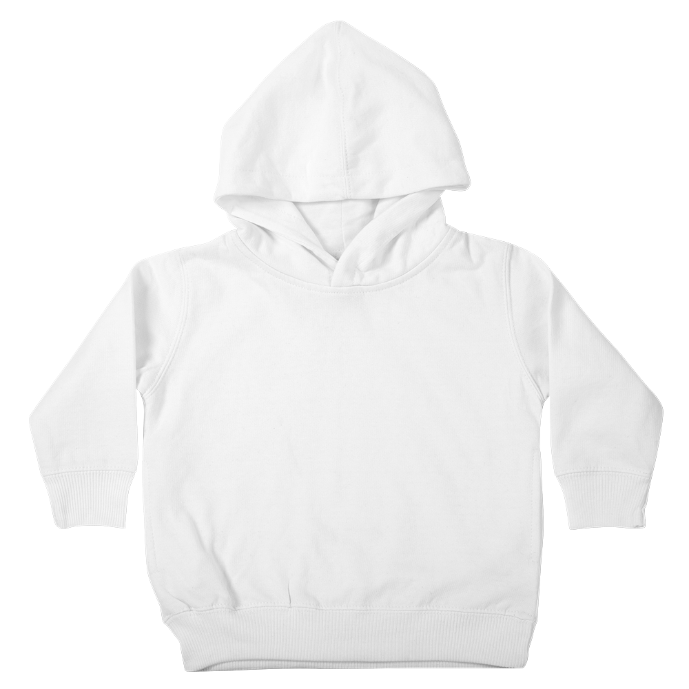 Super soft custom pullover hoody that's too cool for preschool.