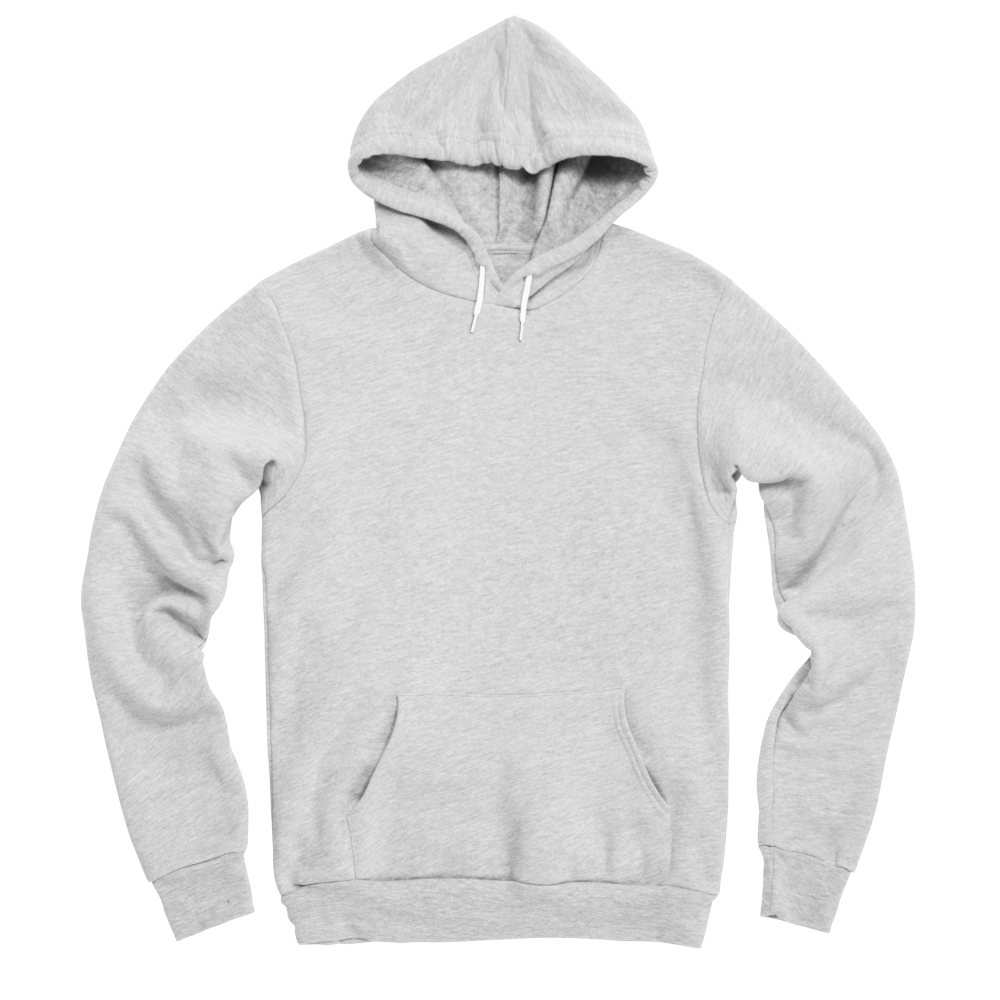 A custom hoody that provides a soft twist on a classic wardrobe staple.