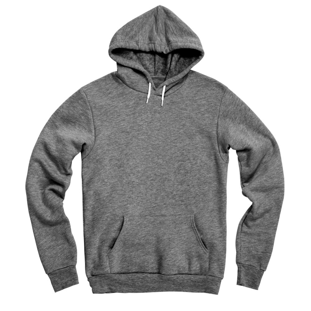 A custom hoody that provides a soft twist on a classic wardrobe staple.