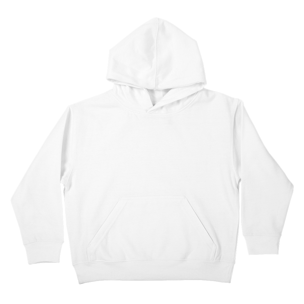 Super soft custom printed pullover hoody that's too cool for school.