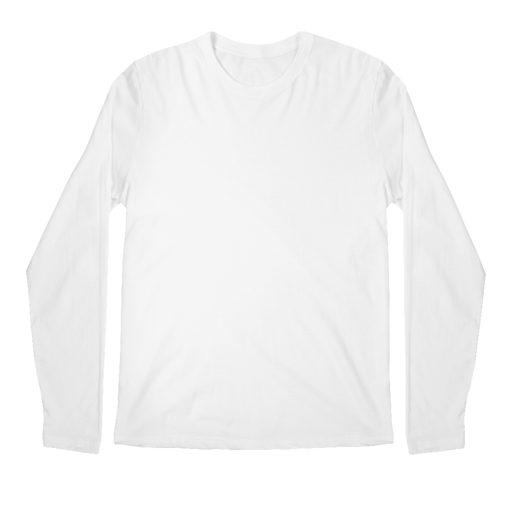 Mens Longsleeve T Shirt Custom Printed Longsleeve T Shirt With No
