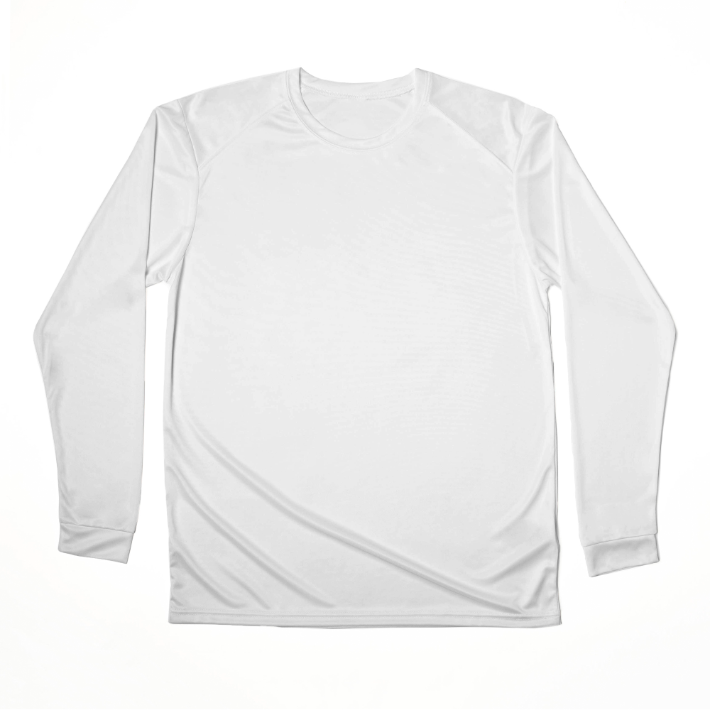 A UPF-protected, moisture-wicking long sleeve t-shirt