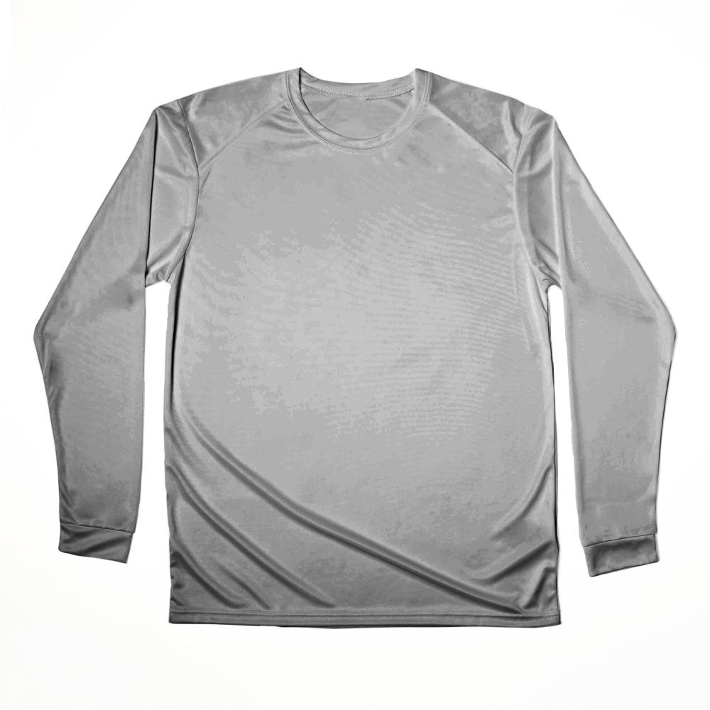 A UPF-protected, moisture-wicking longsleeve t-shirt