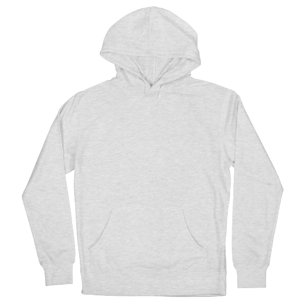 Custom printed french terry fleece pullover hoody