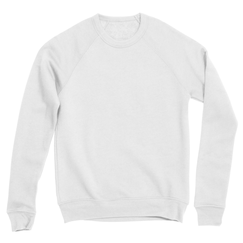 Custom printed pullover sweatshirt with a refined look and super soft feel.