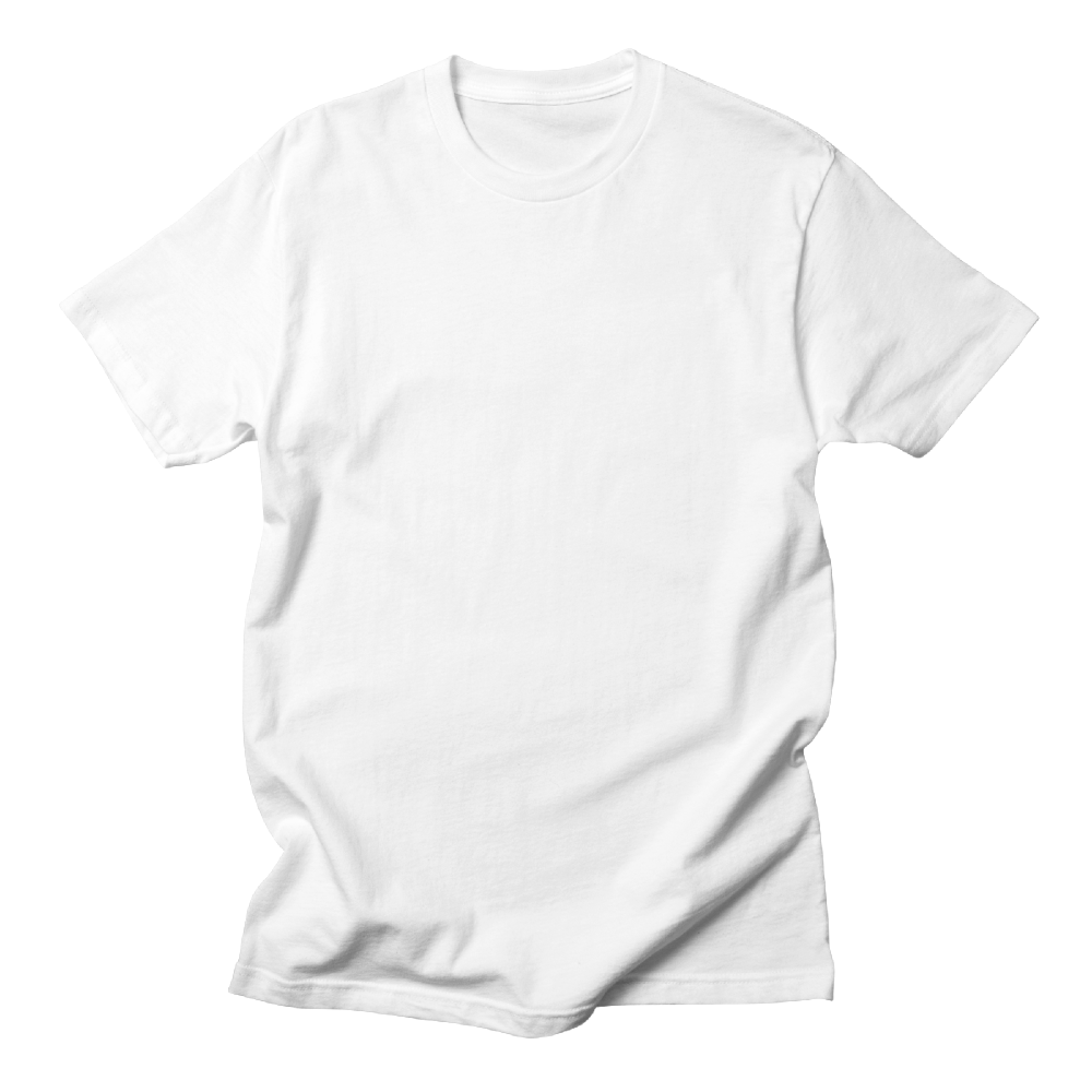 Custom printed unisex t-shirt for a looser, more casual look and feel.