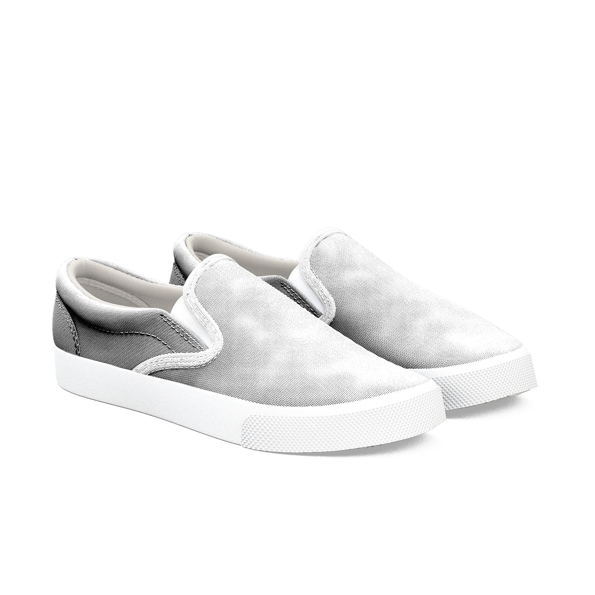 comfortable black slip on shoes