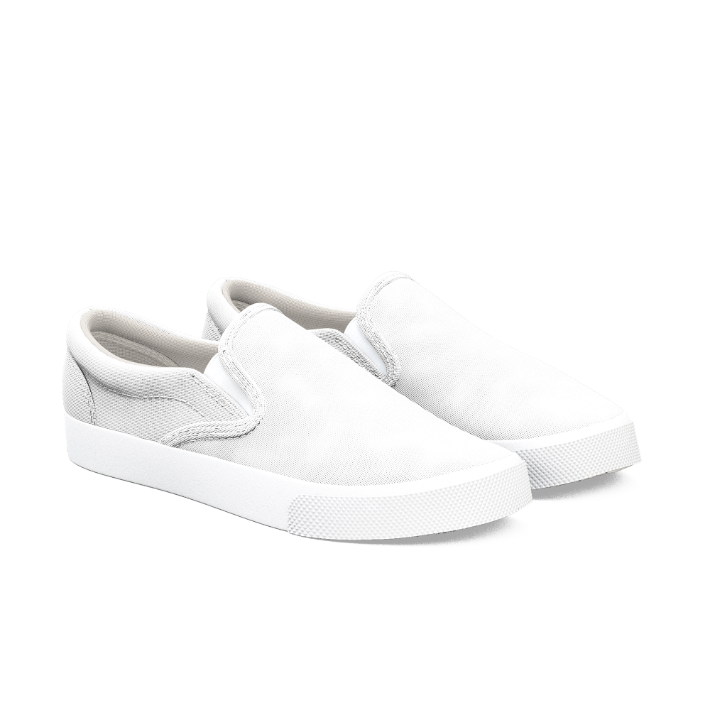 Stylish, ultra comfortable custom slip-ons that can be easily dressed up or down.