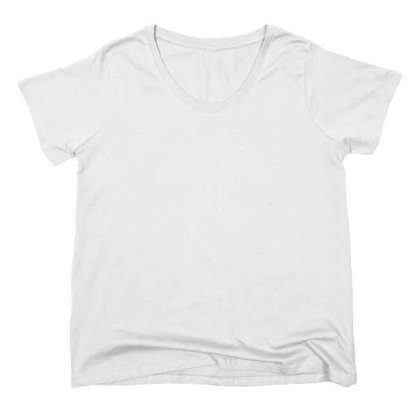 Incredibly soft scoop-neck jersey tees in inclusive sizes