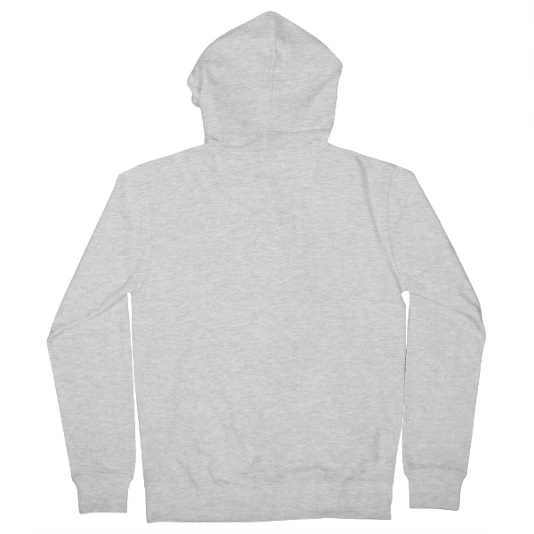 Custom back-printed zip hoodies