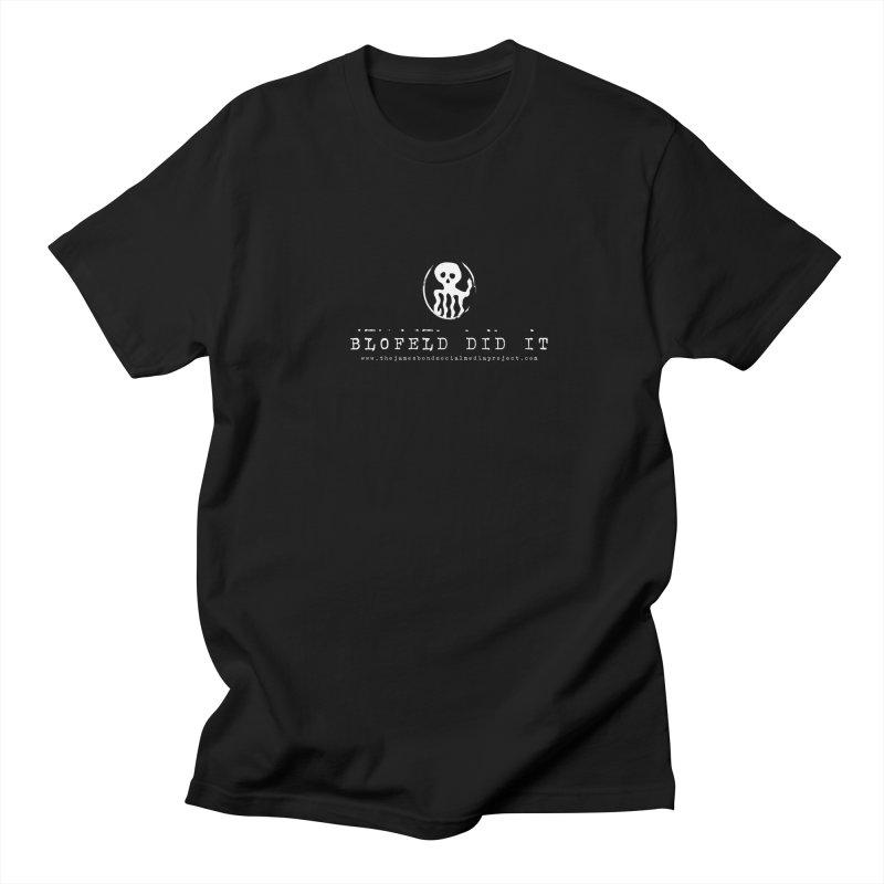 Blofeld Did It Men's Regular T-Shirt by 007hertzrumble's Artist Shop