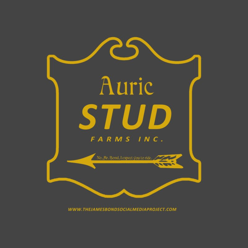 "Auric Stud - ""No, Mr. Bond, I expect you to RIDE."" Men's V-Neck by 007hertzrumble's Artist Shop"