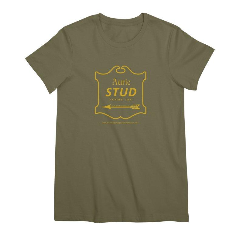 "Auric Stud - ""No, Mr. Bond, I expect you to RIDE."" Women's Premium T-Shirt by 007hertzrumble's Artist Shop"