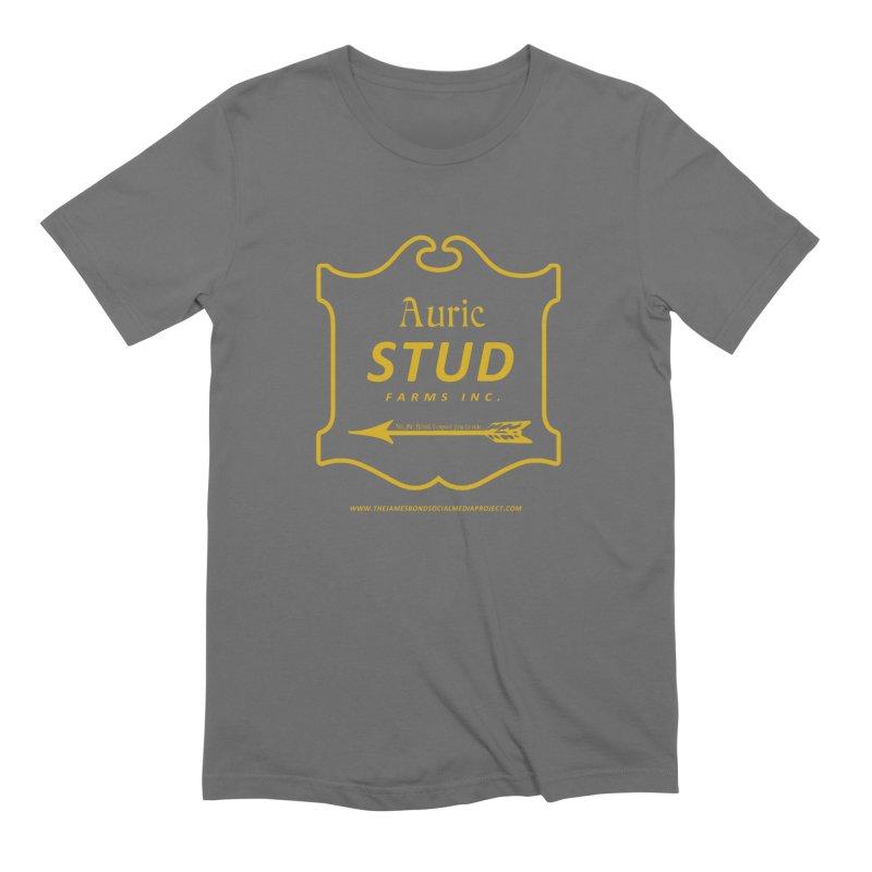 "Auric Stud - ""No, Mr. Bond, I expect you to RIDE."" Men's T-Shirt by 007hertzrumble's Artist Shop"