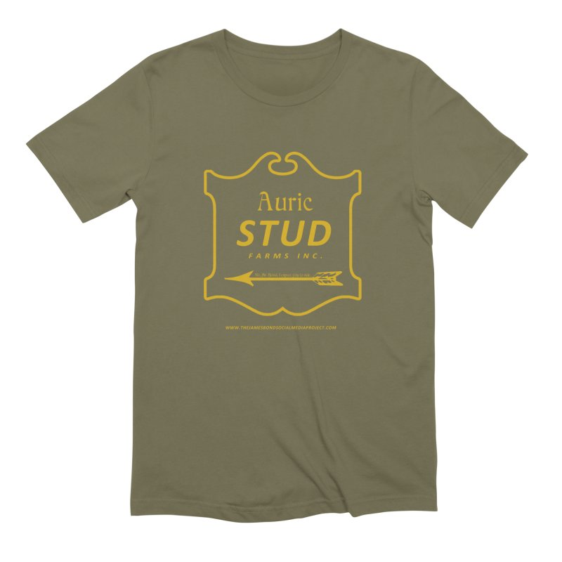 """Auric Stud - """"No, Mr. Bond, I expect you to RIDE."""" Men's Extra Soft T-Shirt by 007hertzrumble's Artist Shop"""