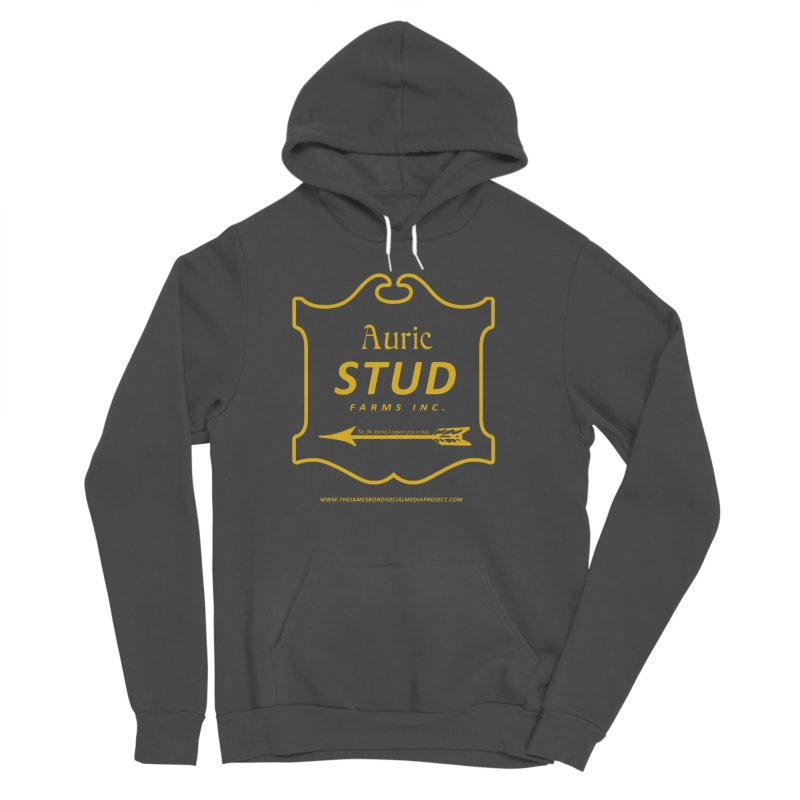 "Auric Stud - ""No, Mr. Bond, I expect you to RIDE."" Men's Sponge Fleece Pullover Hoody by 007hertzrumble's Artist Shop"