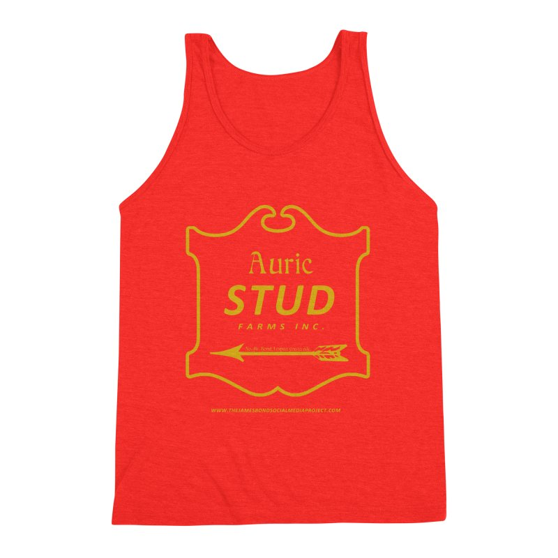 """Auric Stud - """"No, Mr. Bond, I expect you to RIDE."""" Men's Tank by 007hertzrumble's Artist Shop"""