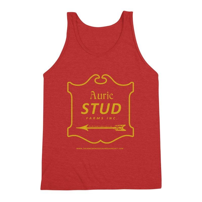"""Auric Stud - """"No, Mr. Bond, I expect you to RIDE."""" Men's Triblend Tank by 007hertzrumble's Artist Shop"""