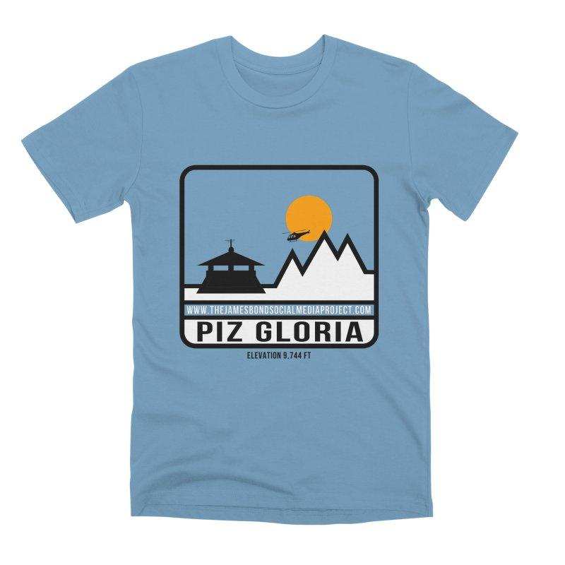 Piz Gloria: Elevation 9,744 FT Men's Premium T-Shirt by 007hertzrumble's Artist Shop