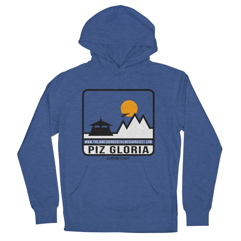 Piz Gloria: Elevation 9,744 FT Women's French Terry Pullover Hoody by 007hertzrumble's Artist Shop