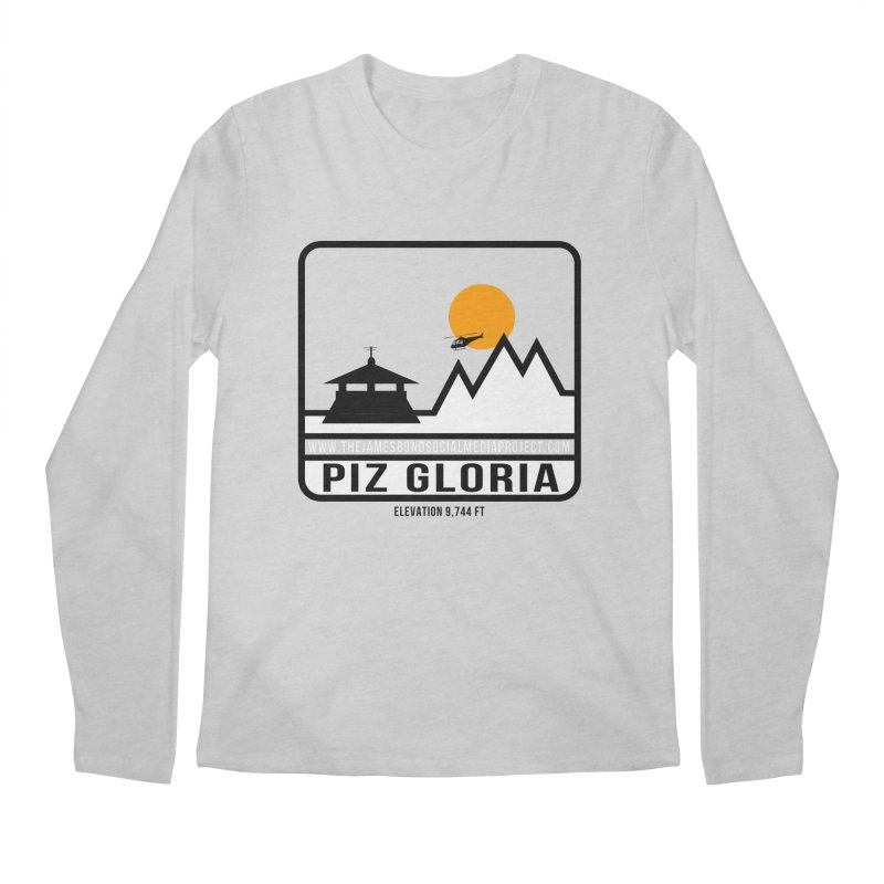 Piz Gloria: Elevation 9,744 FT Men's Regular Longsleeve T-Shirt by 007hertzrumble's Artist Shop
