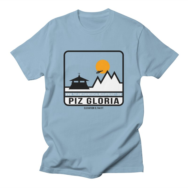 Piz Gloria: Elevation 9,744 FT Men's Regular T-Shirt by 007hertzrumble's Artist Shop