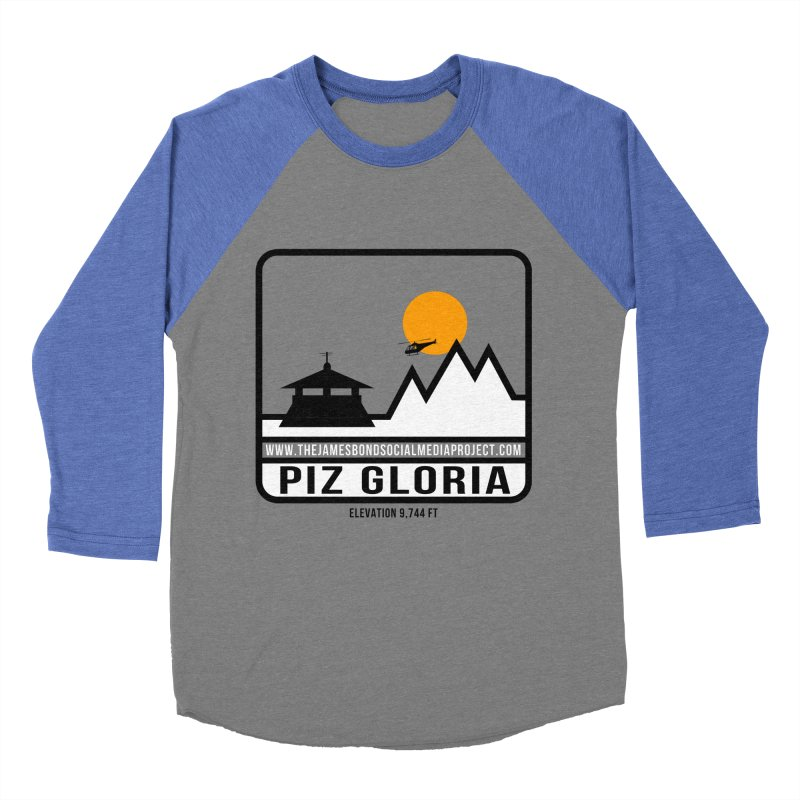 Piz Gloria: Elevation 9,744 FT Women's Baseball Triblend Longsleeve T-Shirt by 007hertzrumble's Artist Shop