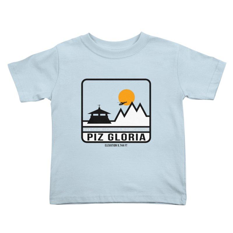 Piz Gloria: Elevation 9,744 FT Kids Toddler T-Shirt by 007hertzrumble's Artist Shop