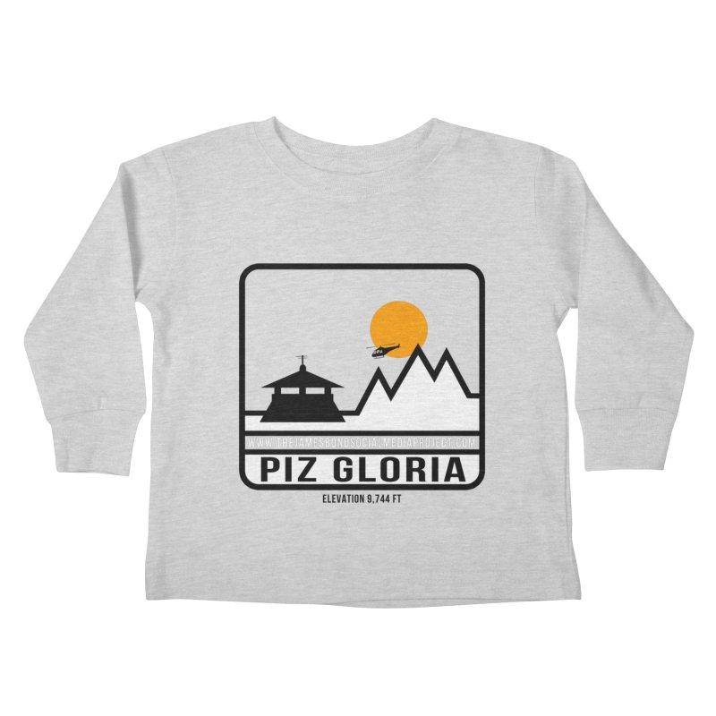 Piz Gloria: Elevation 9,744 FT Kids Toddler Longsleeve T-Shirt by 007hertzrumble's Artist Shop