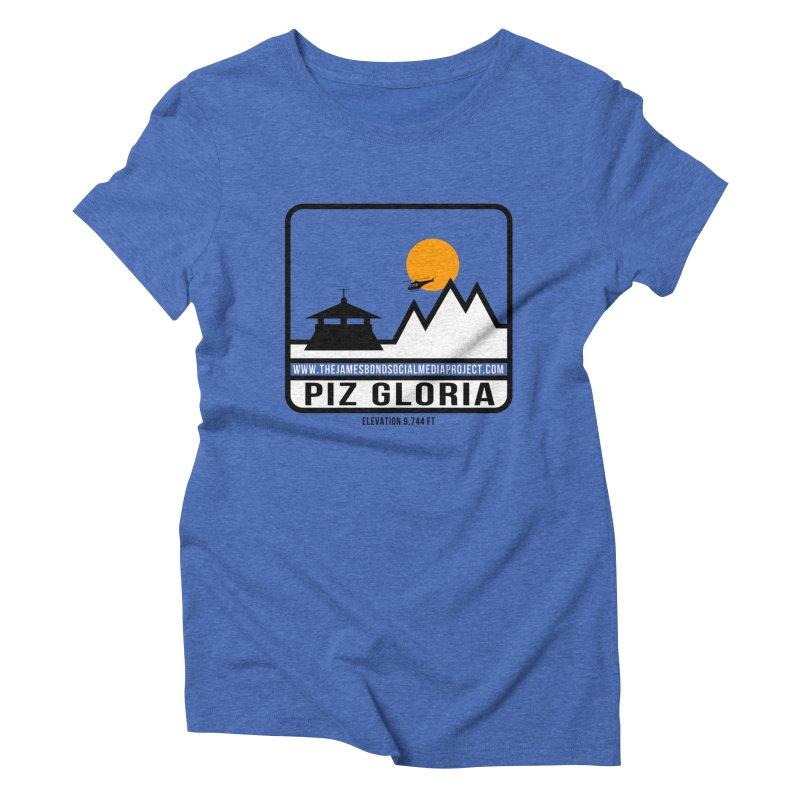 Piz Gloria: Elevation 9,744 FT Women's Triblend T-Shirt by 007hertzrumble's Artist Shop