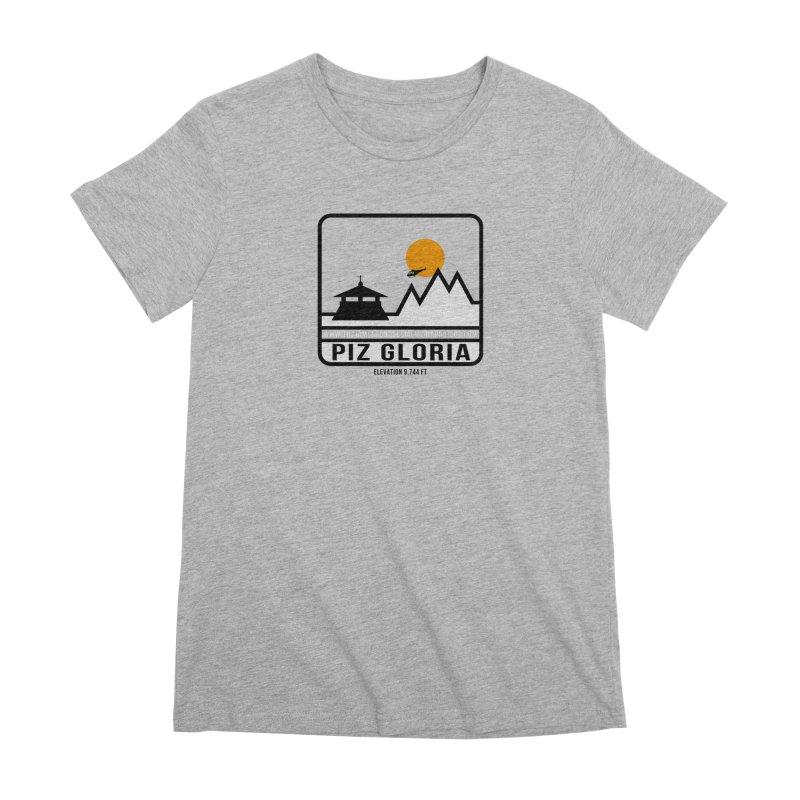 Piz Gloria: Elevation 9,744 FT Women's Premium T-Shirt by 007hertzrumble's Artist Shop