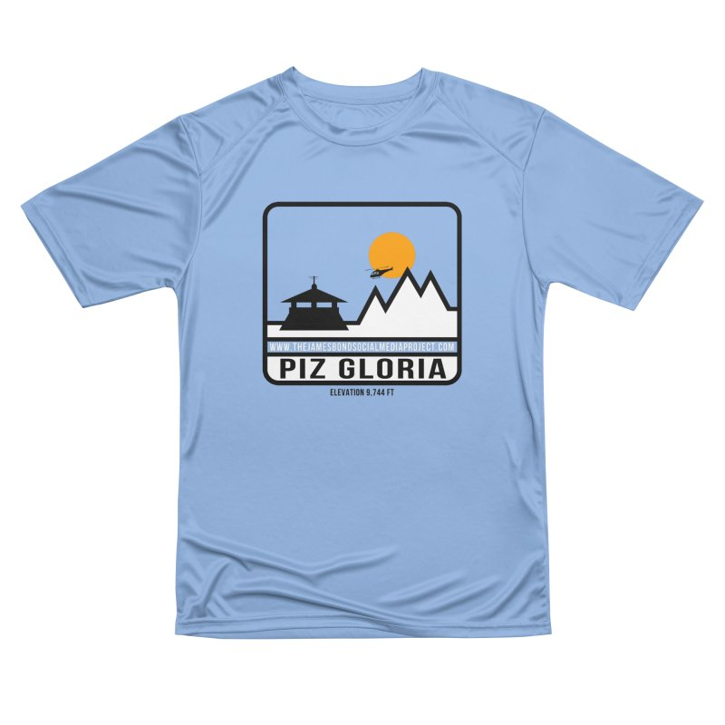 Piz Gloria: Elevation 9,744 FT Men's T-Shirt by 007hertzrumble's Artist Shop