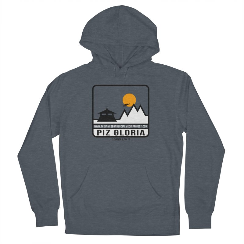Piz Gloria: Elevation 9,744 FT Men's French Terry Pullover Hoody by 007hertzrumble's Artist Shop