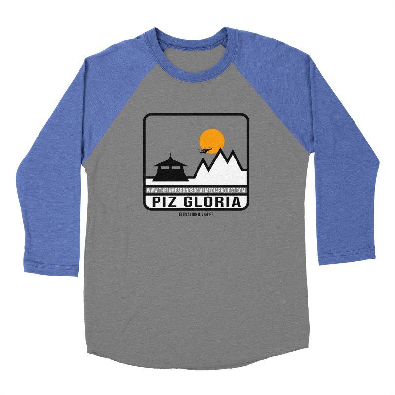 Piz Gloria: Elevation 9,744 FT Women's Baseball Triblend Longsleeve T-Shirt by 007hertzrumble's Artist Shop