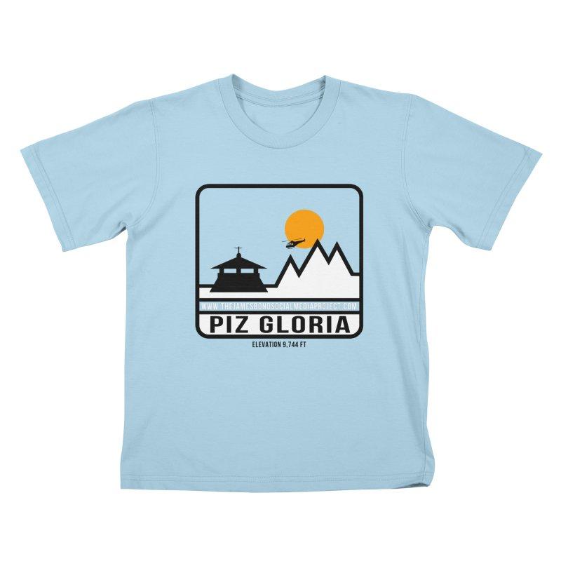 Piz Gloria: Elevation 9,744 FT Kids T-Shirt by 007hertzrumble's Artist Shop