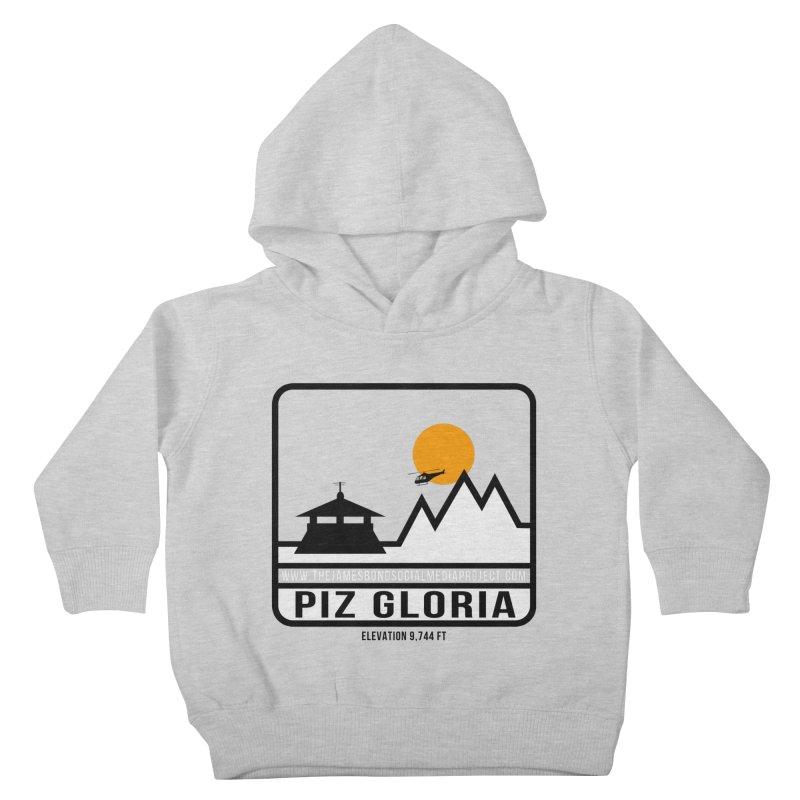 Piz Gloria: Elevation 9,744 FT Kids Toddler Pullover Hoody by 007hertzrumble's Artist Shop