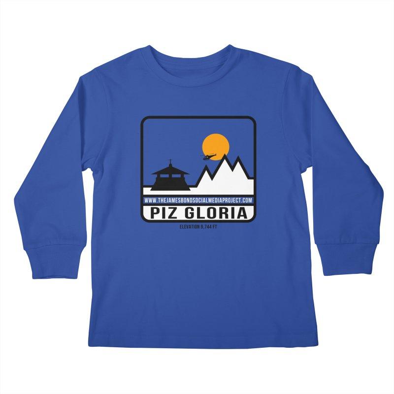 Piz Gloria: Elevation 9,744 FT Kids Longsleeve T-Shirt by 007hertzrumble's Artist Shop