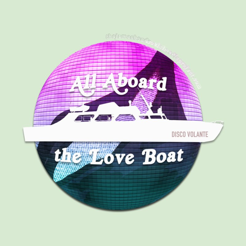 All Aboard the Love Boat - Disco Volante by 007hertzrumble's Artist Shop