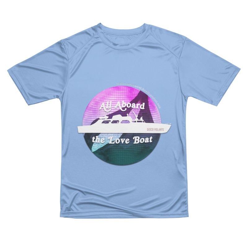 All Aboard the Love Boat - Disco Volante Men's T-Shirt by 007hertzrumble's Artist Shop