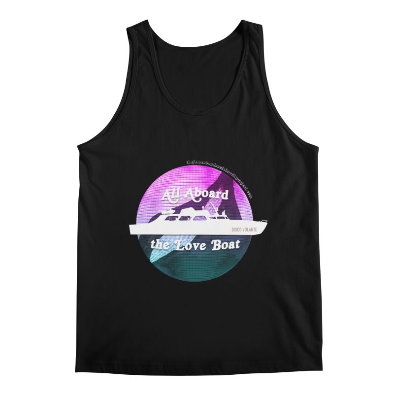 All Aboard the Love Boat - Disco Volante Men's Tank by 007hertzrumble's Artist Shop
