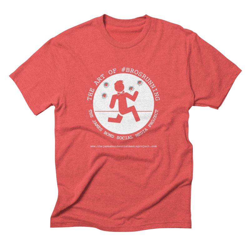 #Brosrunning Men's Triblend T-Shirt by 007hertzrumble's Artist Shop