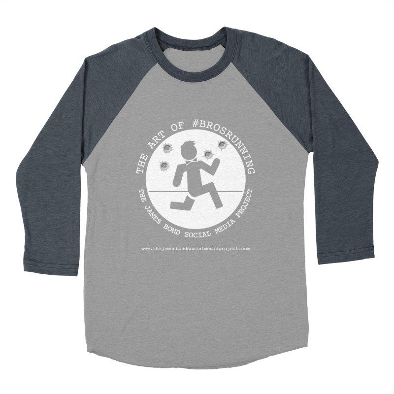 #Brosrunning Women's Baseball Triblend Longsleeve T-Shirt by 007hertzrumble's Artist Shop