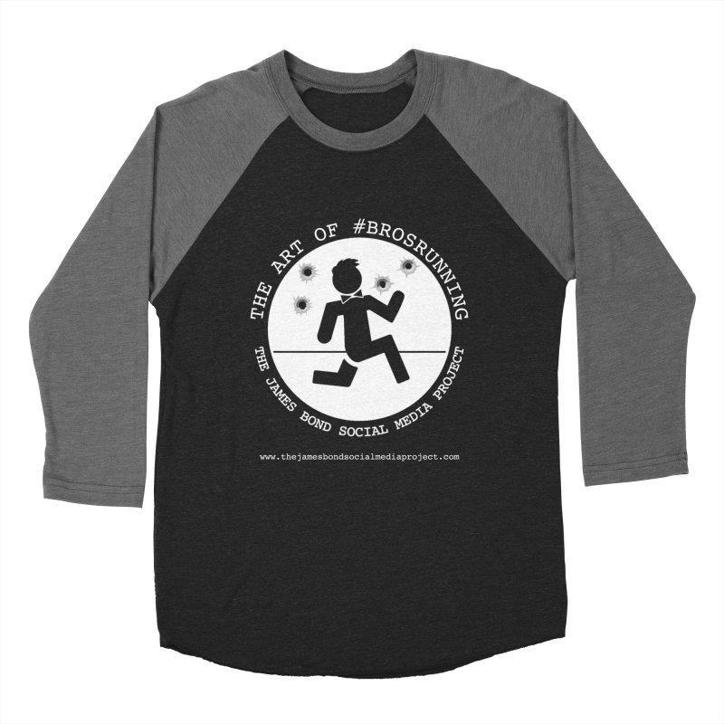 #Brosrunning Men's Baseball Triblend Longsleeve T-Shirt by 007hertzrumble's Artist Shop
