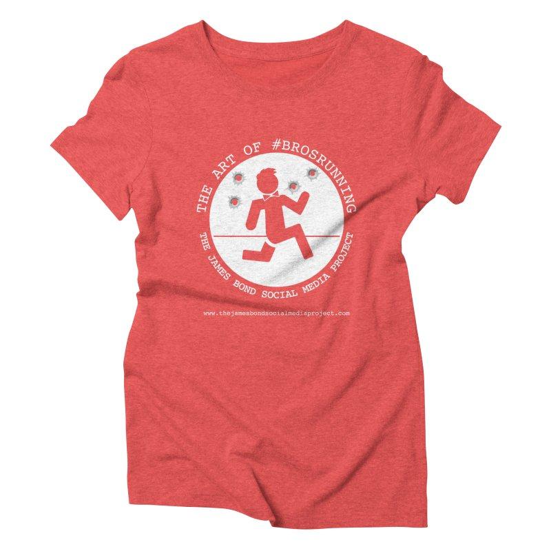 #Brosrunning Women's Triblend T-Shirt by 007hertzrumble's Artist Shop