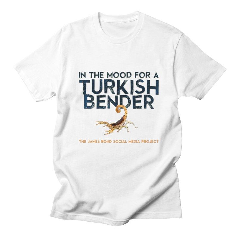 Turkish Bender Men's T-Shirt by 007hertzrumble's Artist Shop