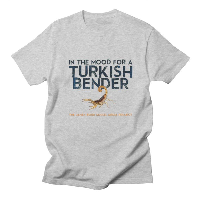 Turkish Bender Men's Regular T-Shirt by 007hertzrumble's Artist Shop